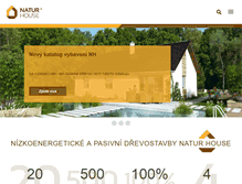 Tablet Preview of natur-house.cz